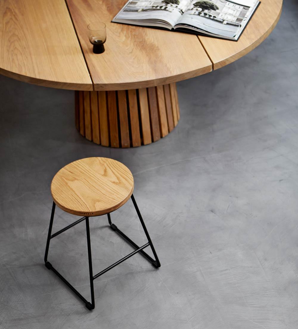 Mjölner - Rundt plankebord fra Træfolk