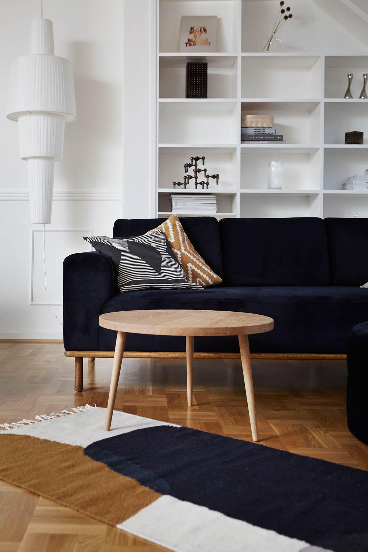 Håndlavet sofabord i egetræ - Træfolk