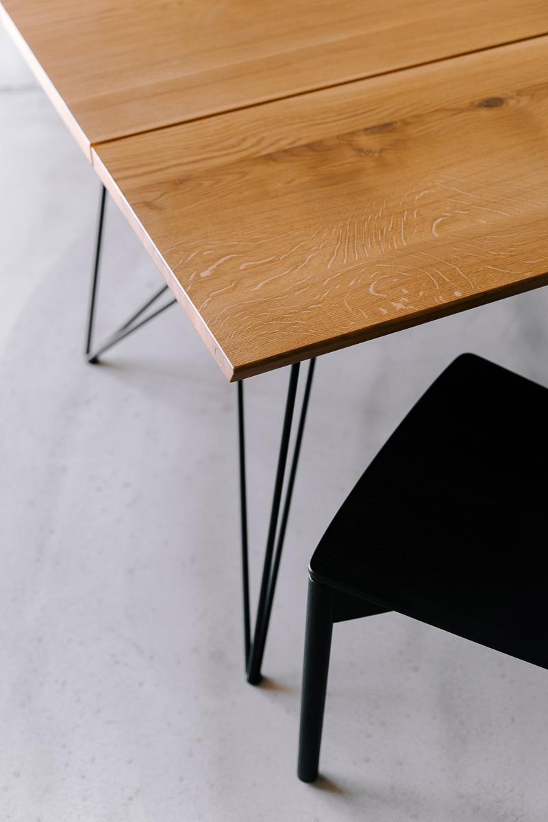 Björk plankebord fra Træfolk i naturolieret egetræ