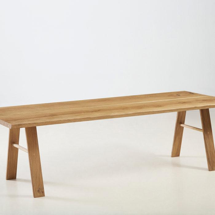 Træfolk plankebord model Folke i natur olieret egetræ