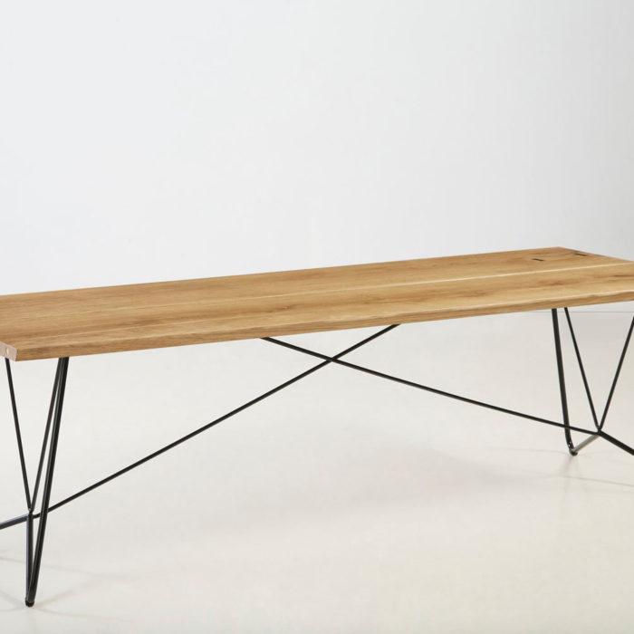 Træfolk plankebord model Nessa i natur olieret egetræ