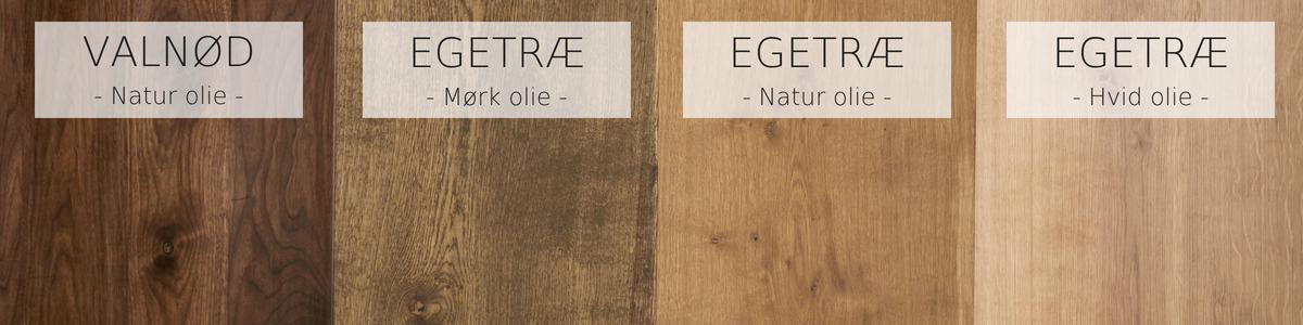 Storslået Plankeborde ▷ Disse typer oliering kan du vælge imellem | Træfolk RO19