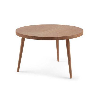 Sofabord fra Træfolk i lys olieret egetræ