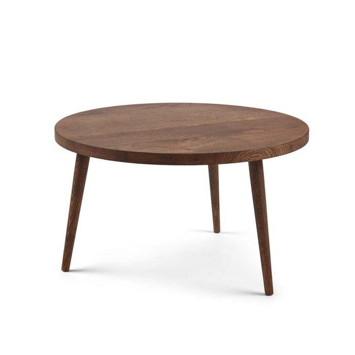 Sofabord fra Træfolk i sort olieret egetræ