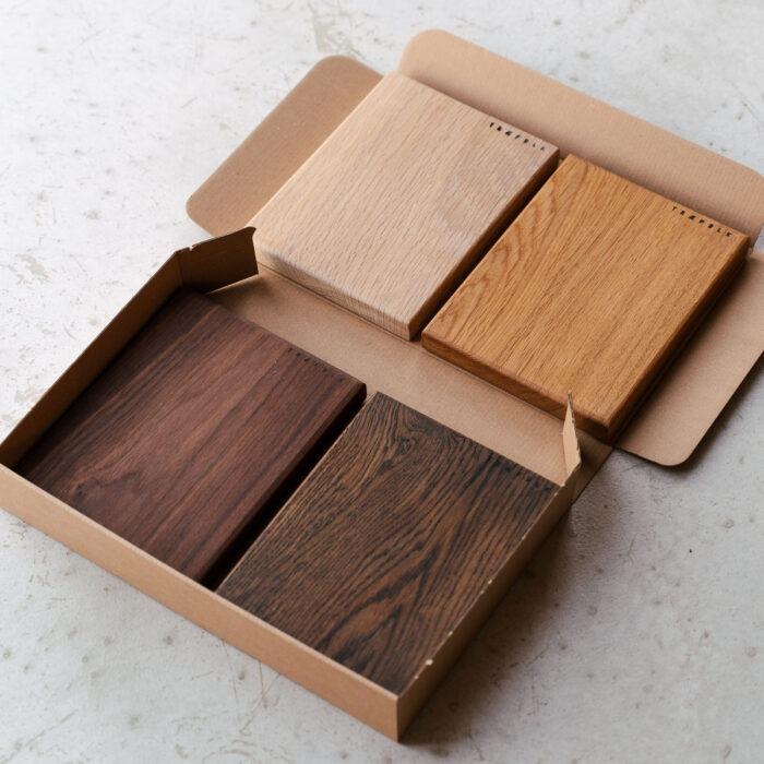 Farveprøver fra Træfolk