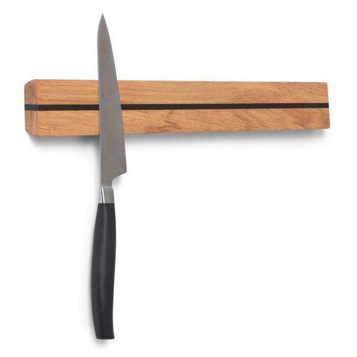Knivmagnet 40 cm i egetræ med magneter