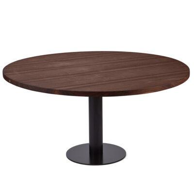 Rundt plankebord i valnød fra Træfolk