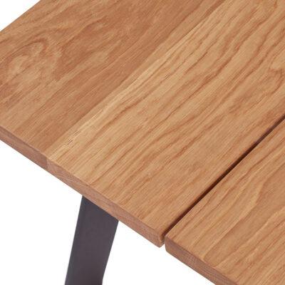 Lækkert sofabord i egetræ fra Træfolk