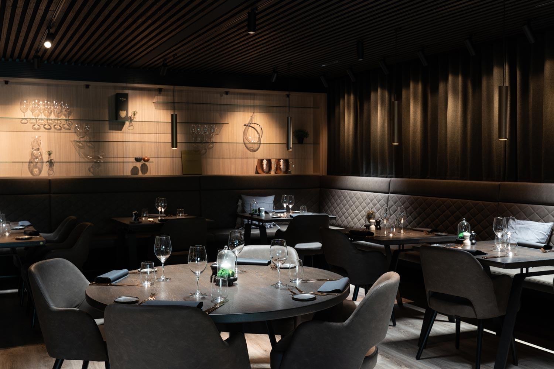 Erhvervsvindretning for restauranten på hotel hedegaarden i Vejle - Træfolk