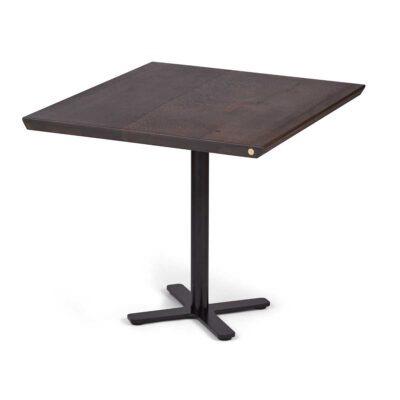 Cafébord i mørk egetræ fra Træfolk