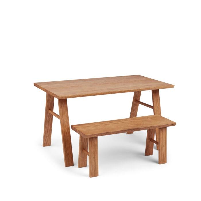 Plankebord m. bænk til de små fra Træfolk